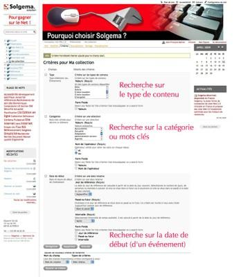 """Copie d'écran """"exemple de collection avec 3 critères"""""""