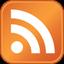 Ceci est une image de l'icône de flux RSS. S'abonner à un flux RSS d'un site permet de récupérer des informations de ce dernier sans avoir à se connecter à lui.
