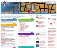 Le site de Waldighoffen préfigure ce que sera un site communal demain. Transparent, pratique, accessible, il donne une image très positive de la commune.