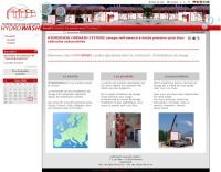 Une image du site Internet du site www.hydrowash.ch qui propose des stations de lavage pour automobiles.