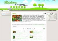 Image du site Internet Les Marraîchers
