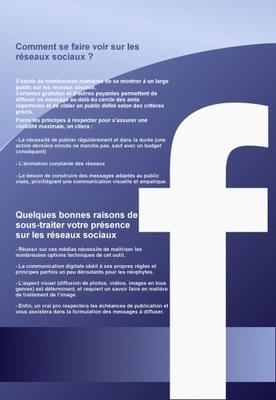 Flyer présentation Facebook 2e partie