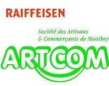 Logo Raiffeisen Banque et Artcom